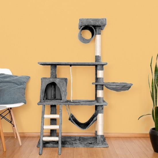 Mačje drevo EASYCAT - sivo