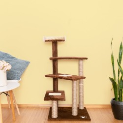Mačje drevo CATSTAIRS -rjava