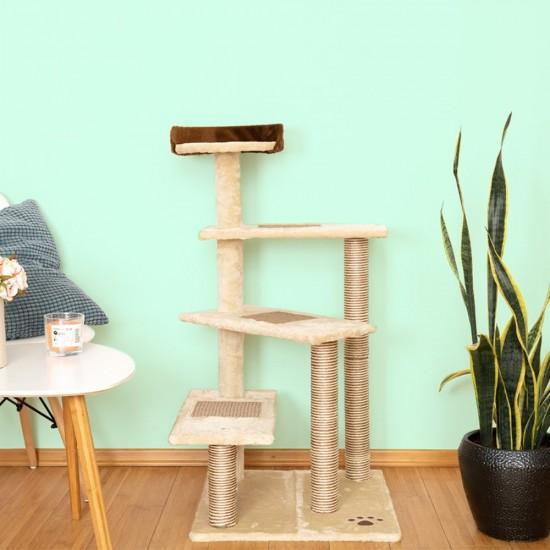 Mačje drevo CATSTAIRS -bež
