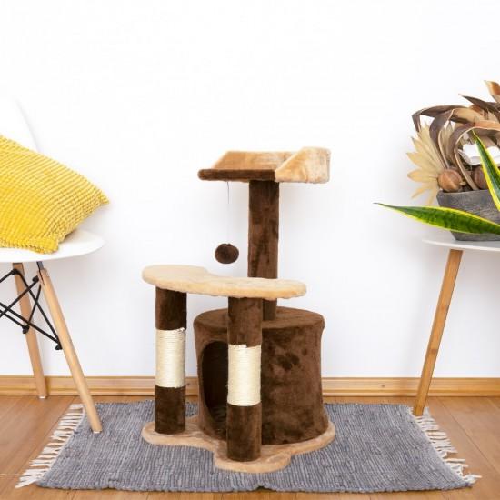 Mačje drevo MINICAT - Rjavo