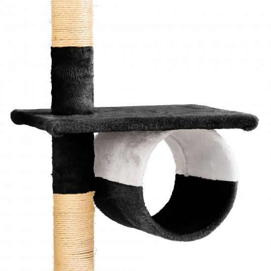Mačje drevo SKYCAT - Črno/bel