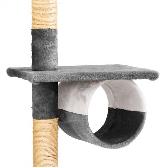 Mačje drevo SKYCAT - Sivo Bel