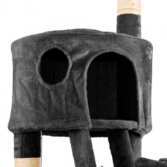 Mačje drevo SKYCAT - Temno Sivo