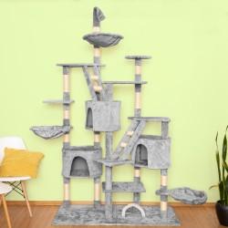 Mačje drevo BIGCAT - Siv