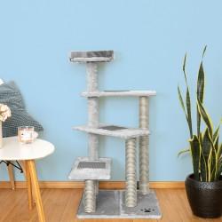 Mačje drevo CATSTAIRS - sivo