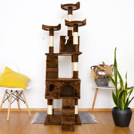 Mačje drevo TOPCAT - Rjavo