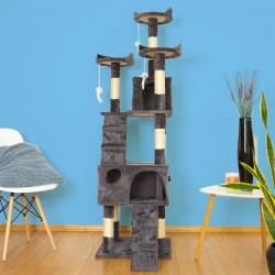 Mačje drevo TOPCAT - Sivo