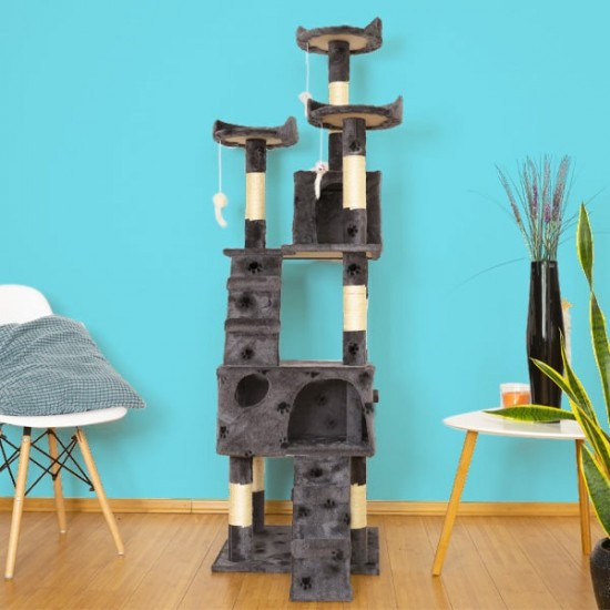 Mačje drevo TOPCAT - Sive tačke