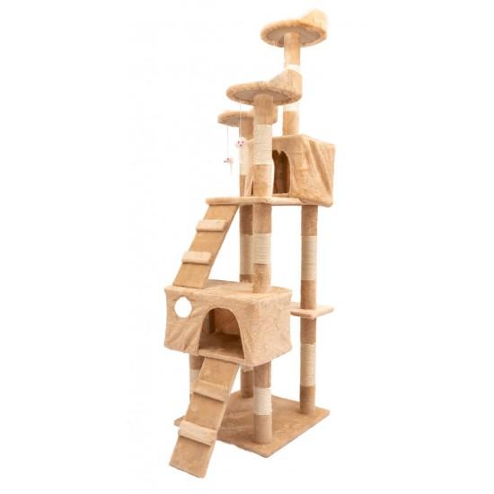 Mačje drevo TOPCAT bež