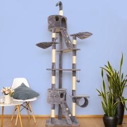 Mačje drevo SKYCAT - Siv