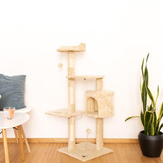 Mačje drevo StreetCat - Sivo
