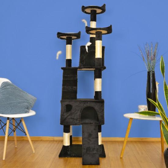 Mačje drevo TOPCAT črno